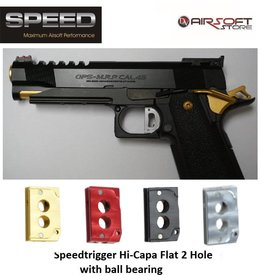 Speed Airsoft TM Hi-Capa ball bearing trigger 2 Hole (Flat)