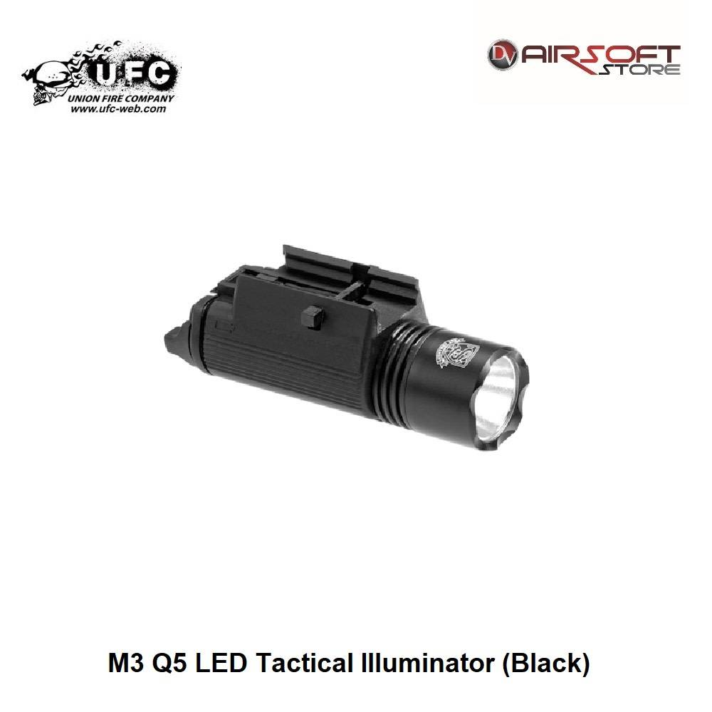 Union Fire M3 Q5 LED Tactical Illuminator (Black)