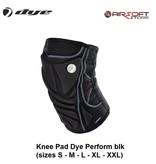 DYE PRECISION Knee Pad Dye Perform blk