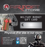 Airsoft Store Gift Card (Physical)