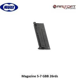 Tokyo Marui Magazine 5-7 GBB 26rds