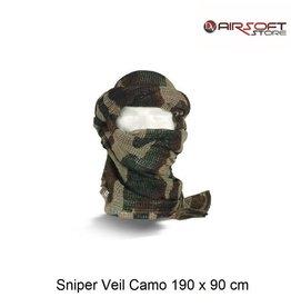 Sniper Veil Camo 190 x 90 cm