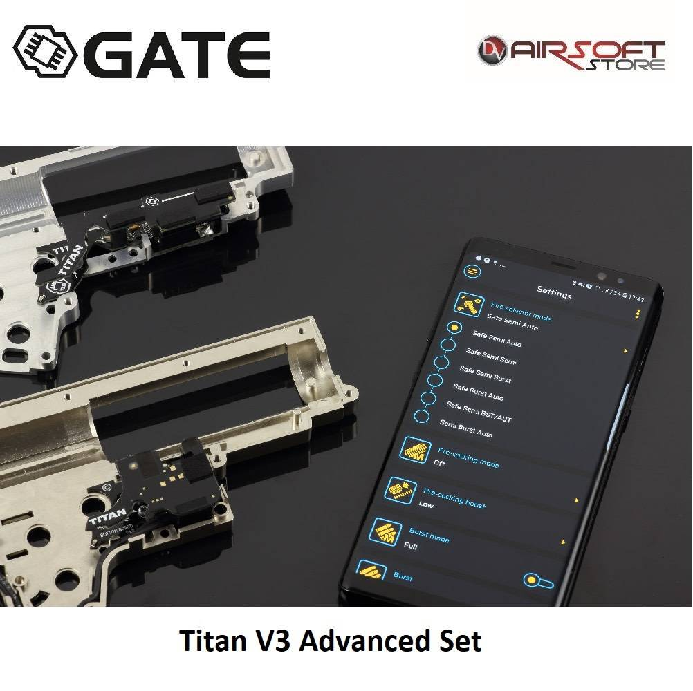 Gate Titan V3 Advanced Set