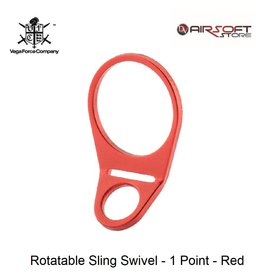 VFC Rotatable Sling Swivel - 1 Point - Red
