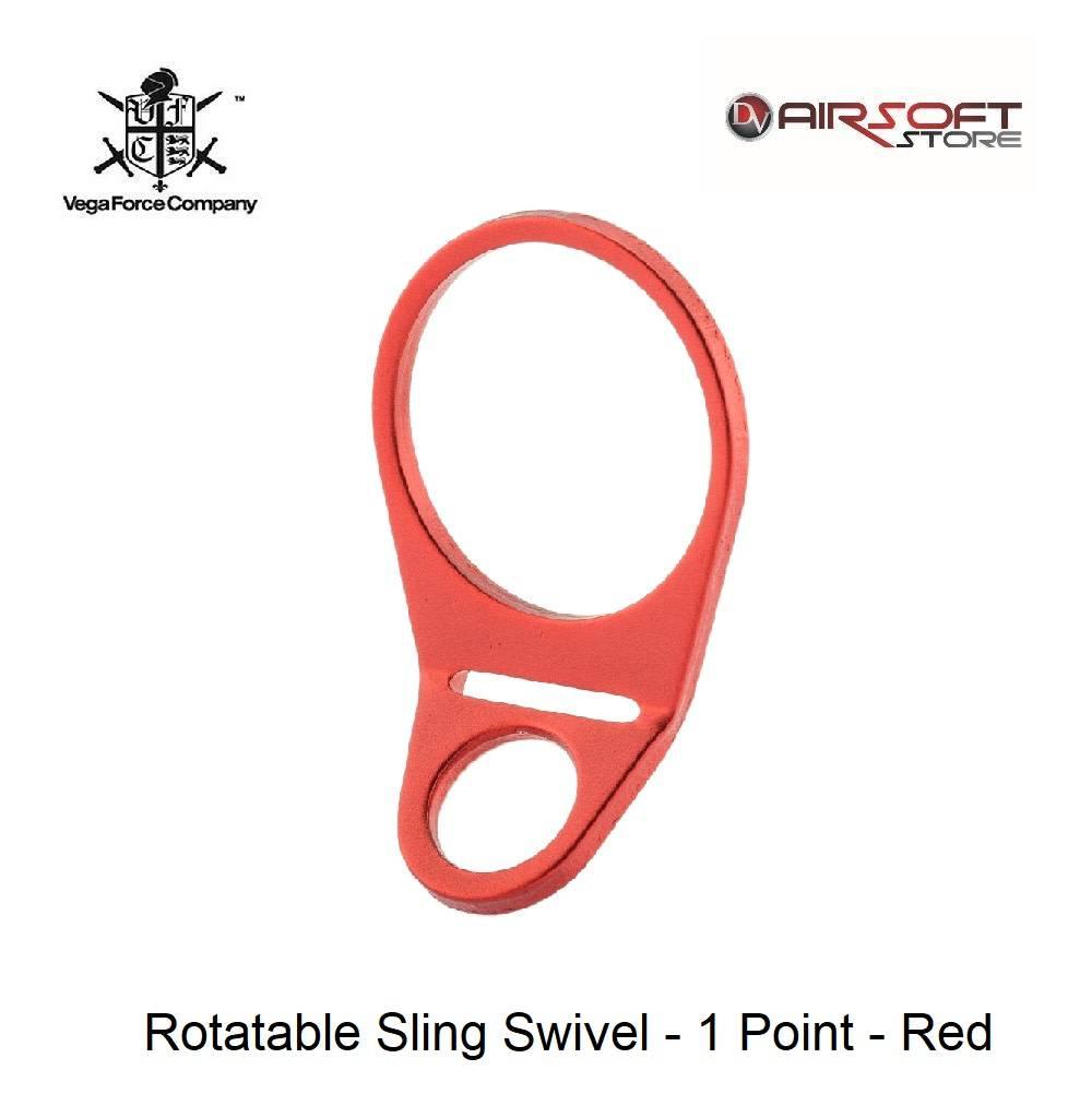 VFC Rotatable Sling Swivel - 1 Point - Red