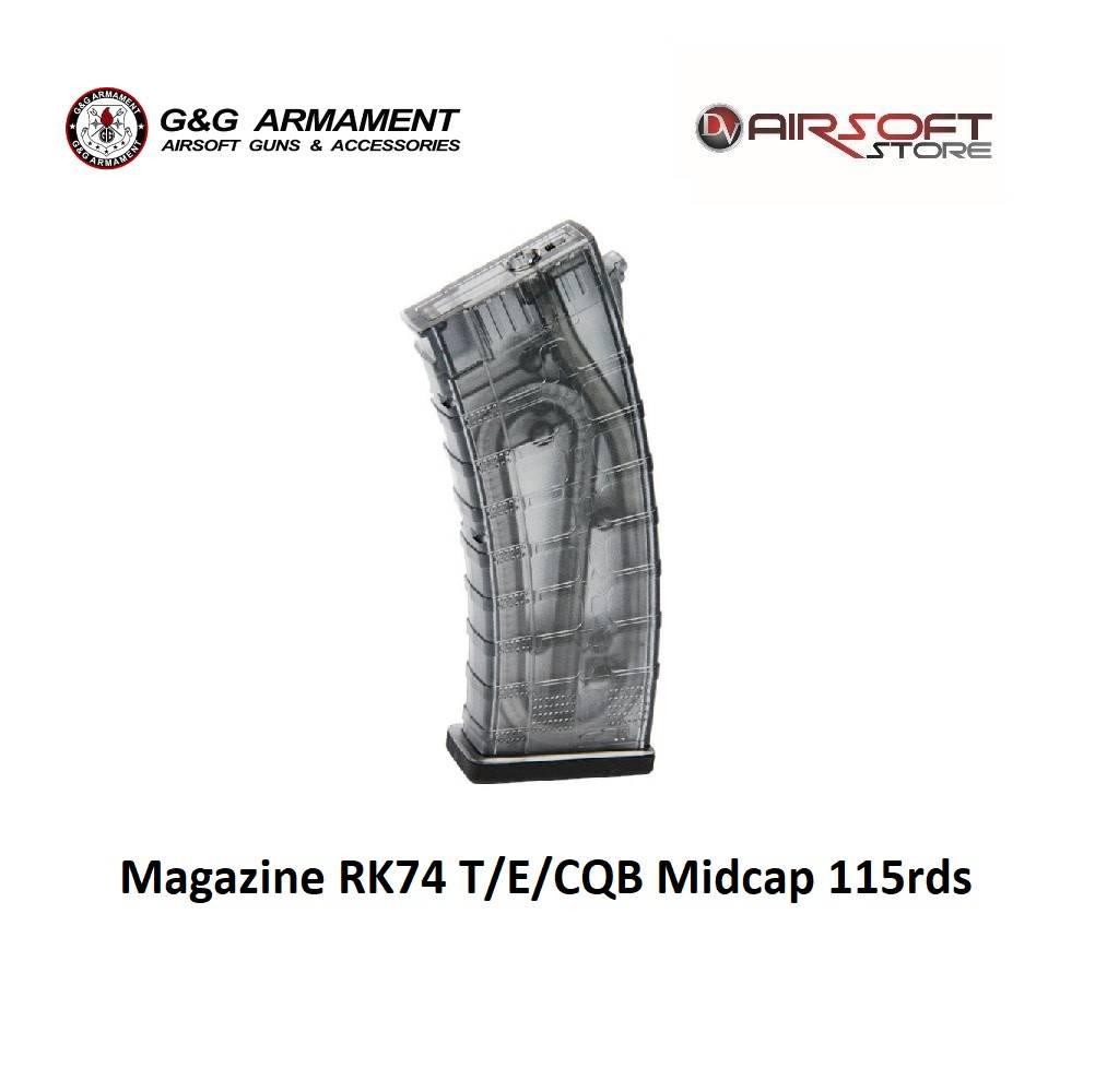 G&G Magazine RK74 T/E/CQB Midcap 115rds