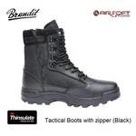 Brandit Tactical Boots with zipper (Black)
