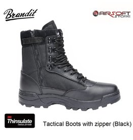 Brandit Tactical Boots with zipper (Black)