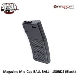 G&P Magazine Mid-Cap BALL BALL - 130RDS (Black)