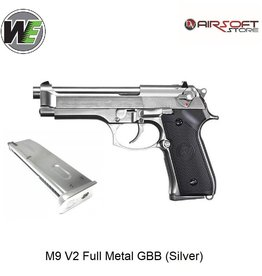 WE Europe M9 V2 Full Metal GBB (Silver)