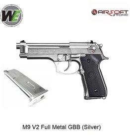WE (Wei Tech) M9 V2 Full Metal GBB (Silver)