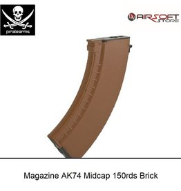 PIRATE ARMS Magazine AK74 Midcap 150rds Brick