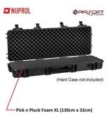 NUPROL Pluck Foam for XL Hard Case (130cm x 32cm)