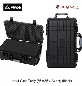 Delta Tactics Hard Case Trolly (56 x 35 x 23 cm) (Black)