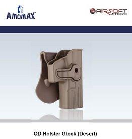 Amomax QD Holster Glock (Desert)