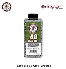 G&G 0.40g Bio BB Grey - 2700rds