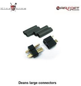 King Arms Deans large connectors