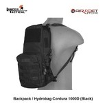 Lancer Tactical Backpack / Hydrobag Cordura 1000D (Black)