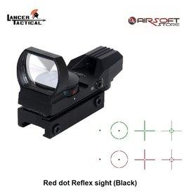 Lancer Tactical Red dot Reflex sight (Black)