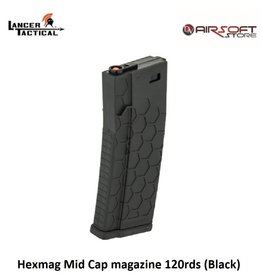 Lancer Tactical Hexmag Mid Cap magazine 120rds (Black)