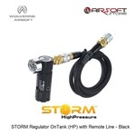Wolverine STORM Regulator OnTank (HP) with Remote Line - Black