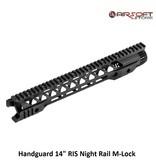 "Handguard 14"" RIS Night Rail M-Lok"
