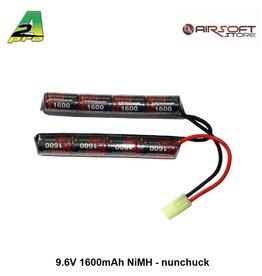 9.6V 1600mAh NiMH - nunchuck