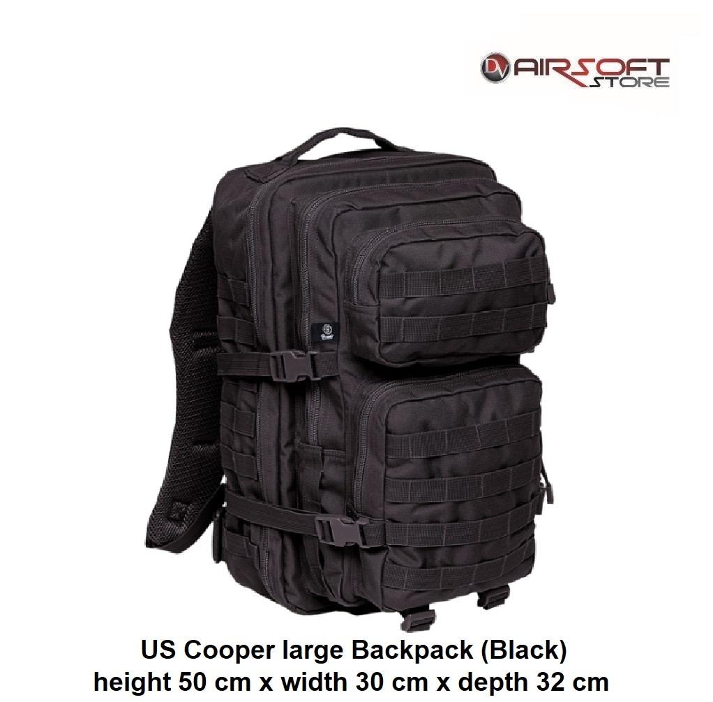 Brandit US Cooper large Backpack (Black)