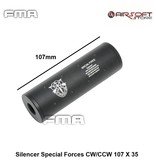 FMA Silencer Special Forces CW/CCW 107 X 35