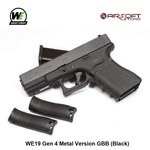 WE (Wei Tech) WE19 Gen 4 Metal Version GBB (Black)