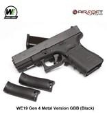 WE Europe WE19 Gen 4 Metal Version GBB (Black)