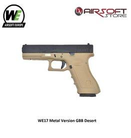 WE Europe WE17 Metal Version GBB Desert