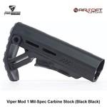 Strike Industries Viper Mod 1 Mil-Spec Carbine Stock (Black Black)