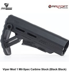 Strike Industries Viper Mod 1 Mil-Spec Carbine Stock (Black Black)