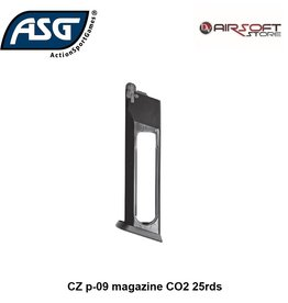 ASG CZ p-09 magazine CO2 25rds