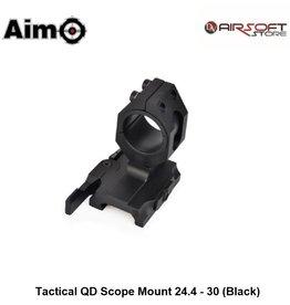 Aim-O Tactical QD Scope Mount 24.4 - 30 (Black)