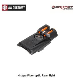 Armorer Works Hicapa Fiber optic Rear Sight for AW