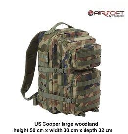 Brandit US Cooper large backpack (woodland)