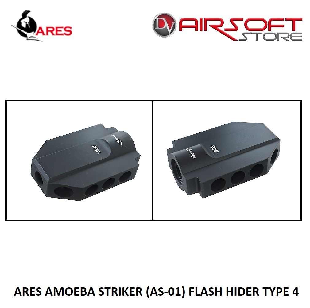Ares ARES AMOEBA STRIKER (AS-01) FLASH HIDER TYPE 4