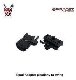 King Arms Bipod Adapter picatinny to swing