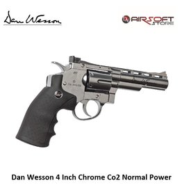 Dan Wesson Revolver 4 Inch Chrome Co2 Normal Power