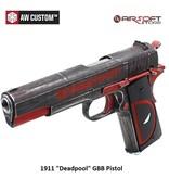 "Armorer Works 1911 GBB-Pistole ""Deadpool"""