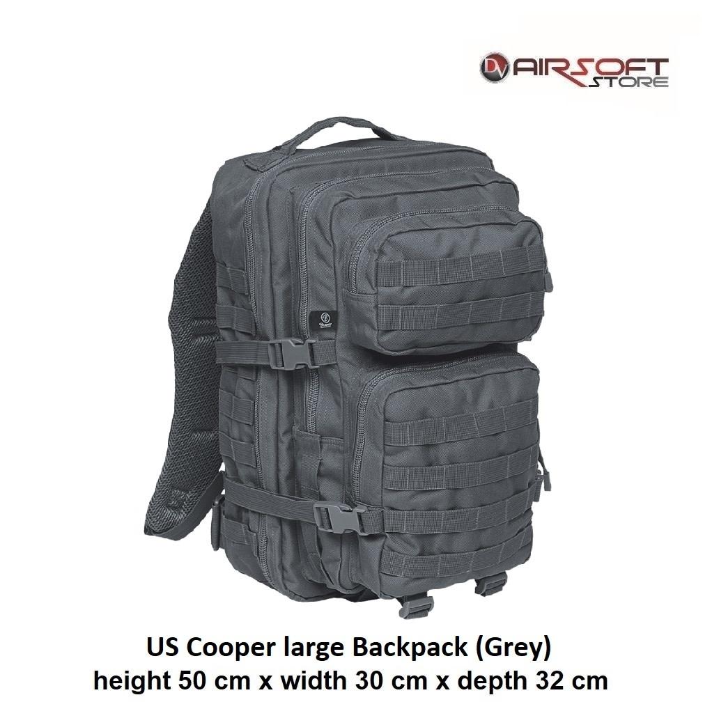 US Cooper large Backpack (Grey)
