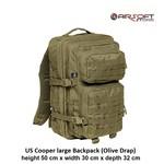 US Cooper large Backpack (Olive Drap)