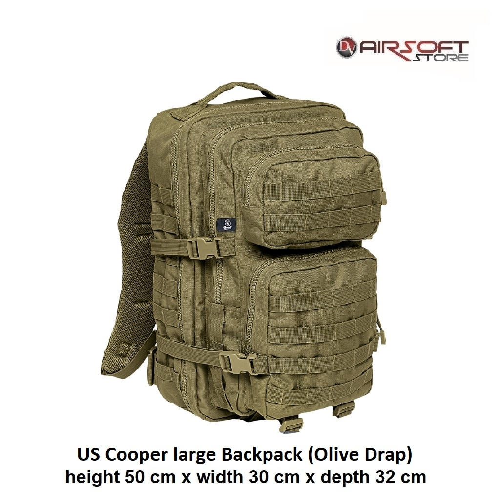 US Cooper large Backpack (Olive Drap)