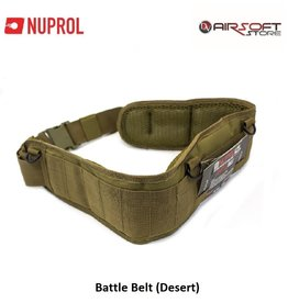 NUPROL Battle Belt (Desert)