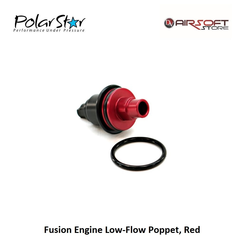 Polarstar Fusion Engine Low-Flow Poppet RED