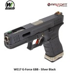 WE (Wei Tech) WE17 G-Force GBB - Silver Black