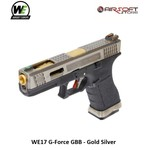 WE (Wei Tech) WE17 G-Force GBB - Gold Silver