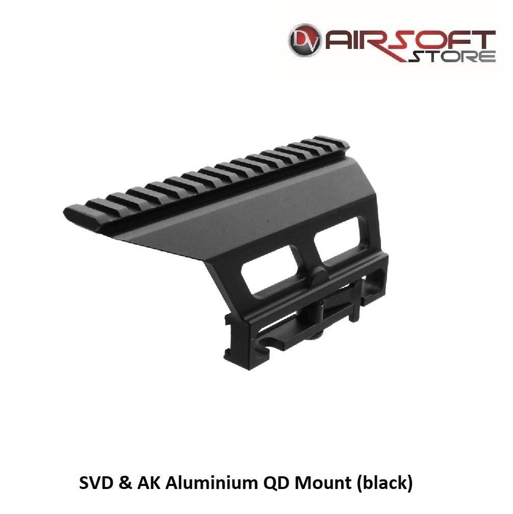 SVD & AK Aluminium QD Mount (black)